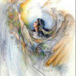 پوستر سقفی طرح فرشته