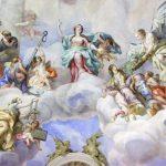 پوستر سقفی فرشتگان