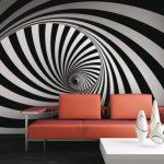 کاغذ دیواری طرح تونل