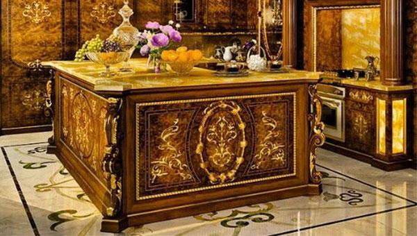 کابینت ممبران سلطنتی روکش طلا