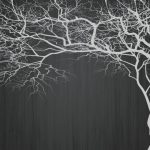 پوستر دیواری طرح درخت