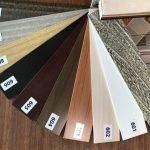 کرکره چوبی تنوع رنگ ۱