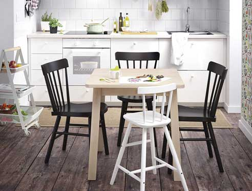 میز مناسب برای آشپزخانه