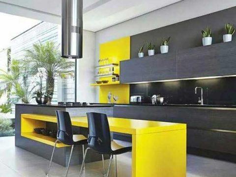 رنگ مناسب آشپزخانه